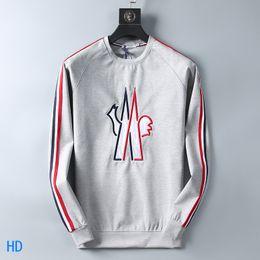 weiße tiger-druckjacke Rabatt M-3XL Luxus Designer Männer Hoodies Sweatershirt Sweater Herren Hoodies Markenkleidung Dünn Langarm Jugend Movements Streetwear