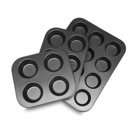 2019 téléphone de bureau vintage 4/6/12 trous bricolage outils de cuisson anti-adhésif en acier moule à gâteau petit gâteau aux oeufs tarte plateau de cuisson plat moule à gâteau moule à biscuits pan de cuisson