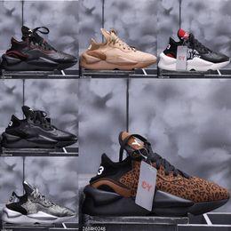y3 tênis de moda Desconto Novos homens de moda de luxo designer de tênis y-3 kaiwa robusto tênis de corrida Y3 Kaiwa Chunky de esportes tênis de treinamento de sapatos para homens com caixa