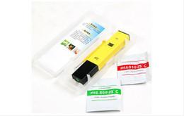 Ph mètres de type stylo en Ligne-Digital PH Meter Pen Type PH-009 0.0 ~ 14.0 Calibration Automatique Température ACT Haute Précision Mini PH Testeur Pour Aquarium