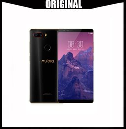 2019 écran mobile zte Nubia Z17S Téléphone d'origine 5,73 pouces ZTE Nubia Z17 S téléphone mobile avec 4 caméras 2040x1080 plein écran snapdgragon 835 (MSM8998) octa core écran mobile zte pas cher
