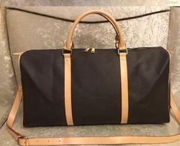 2019 erkek çantası kadın çantası el bagajı lüks tasarımcı seyahat çantası erkek pu deri çanta ve seyahat yün geniş çapraz vücut çanta kılıf 55cm nereden