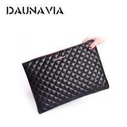 enveloppes ouvertes Promotion DAUNAVIA dames designer PU pochette sac à main dame enveloppe paquet d'embrayage soirée 2019 sac à main féminin paquet # 675272