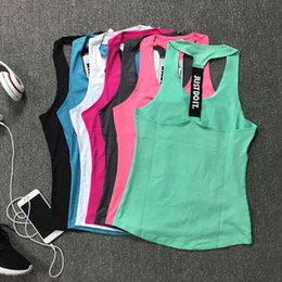 38b6ddf7cc Women Gym Sports Tanks Camis JUST DO IT Sleeveless Shirts Vest Fitness  Running T-shirt Tops Loose Quick Dry Tank Singlets Yoga Top Clothing