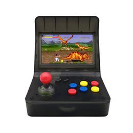 """Nuovi giochi gba online-Nuovo SFC MD GBA Retro Arcade Console di gioco A8 Gaming Machine 3000 Giochi classici Supporto TF Card Espansione Gamepad Controllo AV Out 4.3 """"5pcs"""