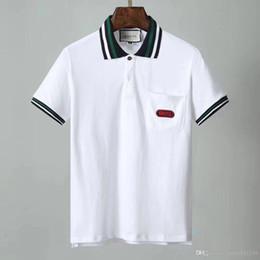 2ca94c4ed251 vestiti di disegno di stile della camicia degli uomini Sconti come 2019  nuovo polo uomo polo