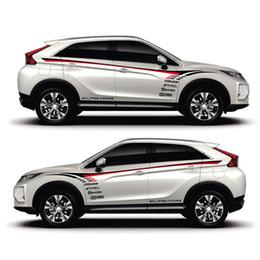 auto aufkleber pajero Rabatt TAIYAO Auto Styling Sport Auto Aufkleber für Mitsubishi ECLIPSE CROSS Pajero Outlander Zinger Eclipse