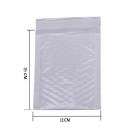 sacos ziplock vermelhos Desconto Atacado- 10X Kawaii Waterproof Pearl White Bubbel Film 11 * 15 Envelope Bulle saco Mailer acolchoado envio Envelopes com bolha Mailing Bags