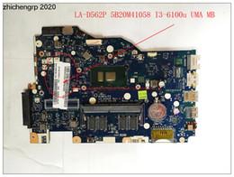 Lenovo ideapad placas base online-Para Lenovo IdeaPad 110-15isk placa madre LA-D562P 5B20M41058 i3-6100u DDR4 4G UMA integrado MB de gráficos