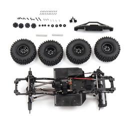 540 Motorlu Parçaları Metal Çerçeve Şasi İçin SCX10 II 1/10 Kaya Paletli Tırmanışı RC Araba Araç Modelleri Parçaları Yükseltme nereden