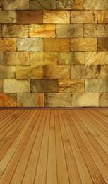 2019 pietre arancioni 5x7ft Oro Arancione Dama Parete Lavabile One Piece No Rughe Banner Photo Studio Sfondo Sfondo Tessuto in poliestere pietre arancioni economici