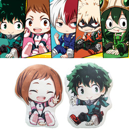 lion toy dolls Promo Codes - My Hero Academia Anime Boku No Hero Yoh Asakura Katsuki Bakugo Shoto Toooroki Dolls & Stuffed Toys Plush Girl Soft Gift Hot SaleMX190925