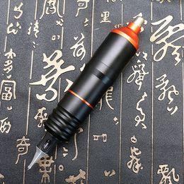 mejor máquina de revestimiento rotativo Rebajas Pro Maquillaje permanente Máquina de pluma Rotary Tattoo Pen Machine Tattoo Supply PTM4307
