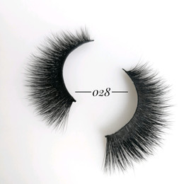 free eyelashes Coupons - Classic 16-Styles 3D False Mink Eyelashes Customized Packaging&Logo Natural Densed&Cross Curling&Wispy Strip Reusable Extension Free ship