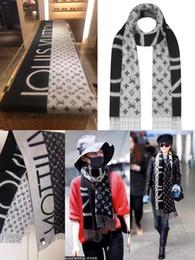 Lenços de marcas grandes de inverno de alta qualidade, lenços de grife de luxo para homens e mulheres, cachecol de veludo vison de luxo e outono de inverno 180x70cm de Fornecedores de laços rápidos