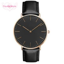 оберточная черная кожа Скидка Mavis Заяц натуральная кожа кварцевые часы розовое золото черный циферблат плита кожа Wrap браслет женщина наручные часы для Рождественский подарок