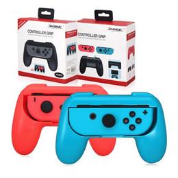 Toptan Setleri Destek Tutucu Kabuk durum Standı Nintendo Anahtarı Joy Con Kontrolörü Seti Konfor El kavrayan 2 Handle için kulplar nereden