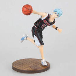 Kuroko korb online-2019 neue anime figur 19 cm Kuroko kein Korb Kuroko Tetsuya Slam Dunk Schwarz Player Spielzeug PVC Action Figure JP Anime brinquedos