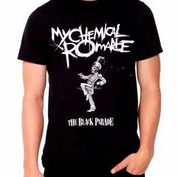 estilos diferentes da camisa de t Desconto The Black Parade T-shirt dos homens Preto Impresso Camiseta Homens Novo Estilo Cores Diferentes de Alta Qualidade
