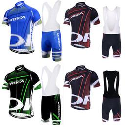 camisetas de ciclismo orbea Rebajas Orbea Team Cycling Manga corta Jersey (Bib) Pantalones cortos Conjuntos Hombres Verano Transpirable Babero acolchado Mangas cortas Babero Traje C2610