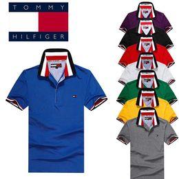 Томми поло онлайн-Высокое качество 2019 мужские рубашки поло австралийский чистый хлопок для Tommy Polo Air Force S-XXL