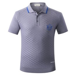 Рубашки для мужчин бесплатно онлайн-  T Shirt men's 2018 new arrival fashion geometry embroidery pattern freely clothing M-5XL free shipping