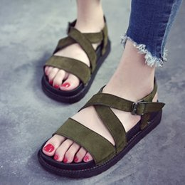 68d6b66f07b3b Rabatt Koreanische Keile Sandale | 2019 Koreanische Keile Sandale im ...