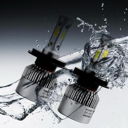 Deutschland H4 LED H7 H11 H8 9005 HB3 9006 HB4 H13 9004 9007 COB S2 Selbstautoscheinwerfer 72W 8000LM 6500K supplier led h7 headlights Versorgung