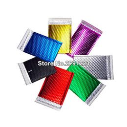 claro plástico cosméticos saco zipper atacado Desconto 50 pcs Embalagem Embalagem Bolha Mailers papel de ouro Acolchoado Envelopes Saco de Presente Saco Envelope Bolha Mailing 15 * 13 cm + 4 cm