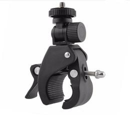 Gopro Мотоцикл Велосипедное крепление для руля Зажим для трубы GoPro Hero Gopro 3+ 4, Xiaomi Yi, экшн-камера Видеокамера 55 от Поставщики руль для мотоцикла