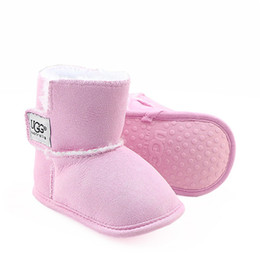 Argentina Zapatos de bebé recién nacido Niño Niña Patrón estrella del corazón Los niños primeros caminante niños atan para arriba las zapatillas de deporte de la PU 0-18 Meses Suministro