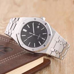 Reloj para hombre de lujo estilo clásico 15400 Series 41mm relojes mecánicos automáticos correa de acero inoxidable Reloj de pulsera de alta calidad de múltiples colores desde fabricantes