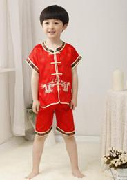 2019 artes marciais chinesas Frete grátis nova moda crianças meninos roupas roupas tradicionais chinesas kung fu uniforme wushu artes marciais para meninos desconto artes marciais chinesas