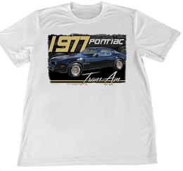 2019 carros pontiac 1977 Pontiac Trans Am Bandit Edição Wicking T-Shirtw Bandeira Car Coaster colorido camiseta carros pontiac barato