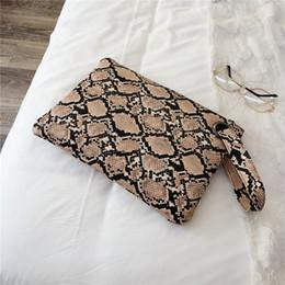 Vintage schlangenhauttasche online-Art und Weise Snakeskin Muster-Frauen-Tageshandtasche-Damen Handgelenk Cluches PU-Leder-Handgelenk-Kupplungs-Geldbeutel-Umschlag-Abend-Taschen Taschen