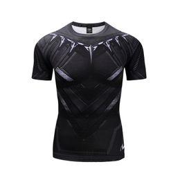 Camiseta de manga corta estampada, medias elásticas de secado rápido de alta elasticidad deportiva desde fabricantes
