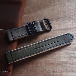 2019 pulseira de couro feita à mão Handmade Genuine Vintage Genuine Leather Strap Watch Band Assista Acessórios Pulseira 18mm 20mm 22mm 24mm Pulseiras 2019 novo pulseira de couro feita à mão barato