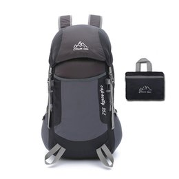 635cfa0e7136 Outdoor Sports Foldable Backpack Multifunction Men Women Waist Bags  Mountaineering Hiking Fishing Travel Rucksack xa1-1a