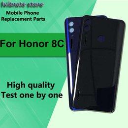 """iphone 6s logement de remplacement Promotion 100% nouvelle batterie arrière logement de porte de couverture arrière pour Huawei Honor 8C 8 C couvercle de batterie Honor8C 6.26 """"coque arrière de remplacement"""