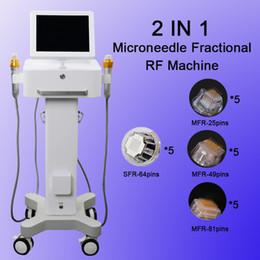 Laser di sollevamento della pelle online-ago microtubo frazionario rf microneedle Ago per lifting cutaneo laser laser frazionario RF Beauty equipment
