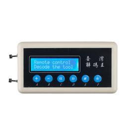 ATS 315Mhz 433Mhz Дистанционное управление кодовым сканером Копир Ключи от машины Пульт дистанционного управления Беспроводной дистанционный ключ Сканер кода детектор от