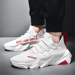 pattini di strada di modo degli uomini di estate Sconti HIP HOP Mesh Sport Clunky Sneakers Stivaletti Uomo Street Footwear Fashion Estate Papà Scarpe Traspirante Outdoor Arrampicata Scarpe