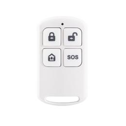 Système d'alarme de gsm de sécurité en Ligne-Télécommande sans fil 433MHZ pour notre système d'alarme GSM de sécurité à domicile PG103 PG168