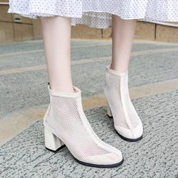2019 farbe sommer stiefel Normallack der Schuhart und weise der Sommerfrauen hohle Aufladungen zapatos de Mujer Aufladungen für beiläufige Damen der Frauen kühlen Reißverschluss ab günstig farbe sommer stiefel