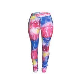 нейлоновые женщины беременные Скидка Женщины брюки Брюки Леди случайные контраст цвета длинные ноги брюки карандаш брюки тощий ноги Женская одежда S-2XL A119