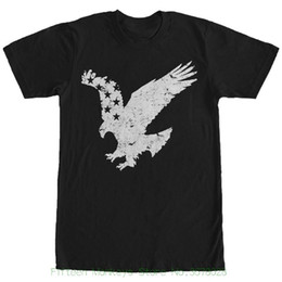 0d75e3a6e american flag mens t shirt Canada - Short Sleeve T-shirt Tops Lost Gods  Flying