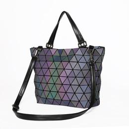 Rosa sugao diseñador de lujo bolso de las mujeres bolso luminoso bandoleras moda geométrica casual pu de cuero embrague moda messenger bag desde fabricantes