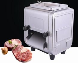 cortador comercial Desconto Aço inoxidável comercial 550 W elétrica Slicer de carne Multifuncional Slicer Shred Chetting máquina de cubos LLFA