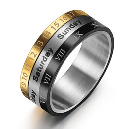 505e7995addce Shop Calendar Rings UK | Calendar Rings free delivery to UK | Dhgate UK