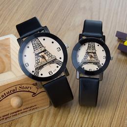 213 Ronda París Torre de Hierro Moda Calor Venta de amantes Superficie Popular Tendencia coreana Hombres y mujeres Estudiante Reloj de pulsera desde fabricantes